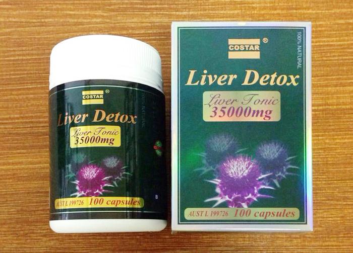 Giải độc gan nhờ Liver Detox Costar
