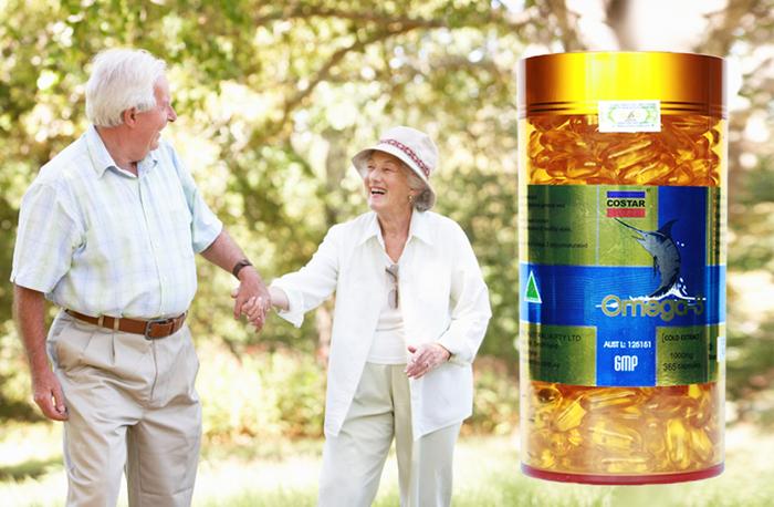 Viên nang uống Omega 3 của hãng Costar Úc